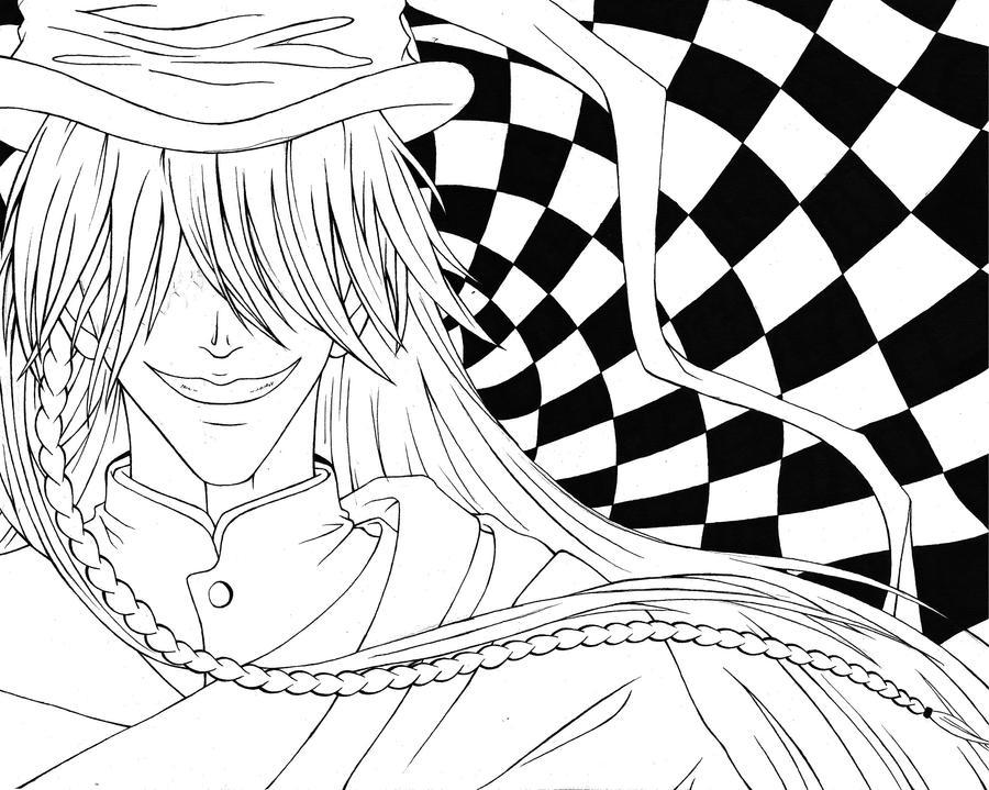 Undertaker Kuroshitsuji Lines by AvrilDC