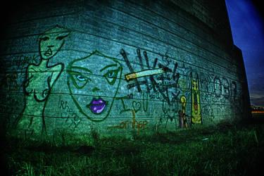 Grunge Graffiti by jodroboxes