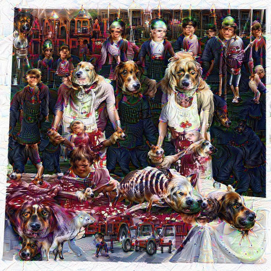 Deep Neural Cannibal Corpse Dream by jodroboxes