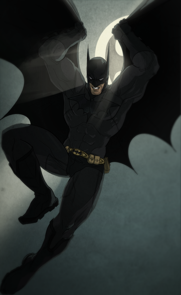 Batman by RubiaStreet