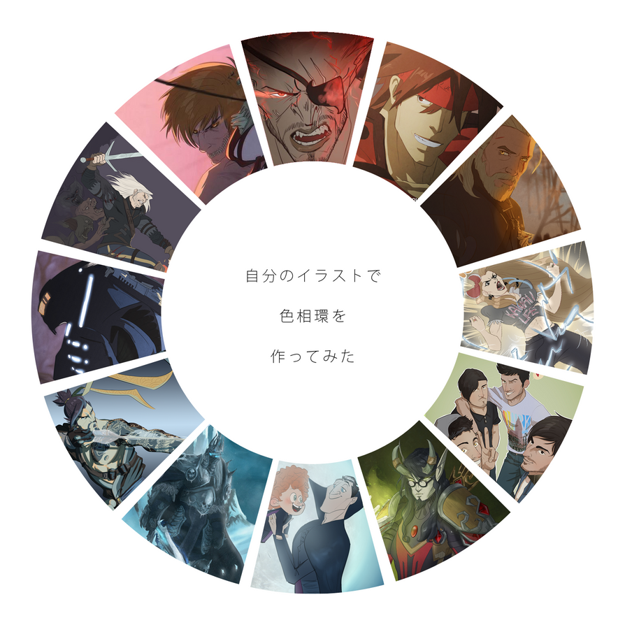 Hue wheel! :D by RubiaStreet