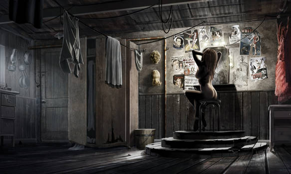 Show Girl Interior