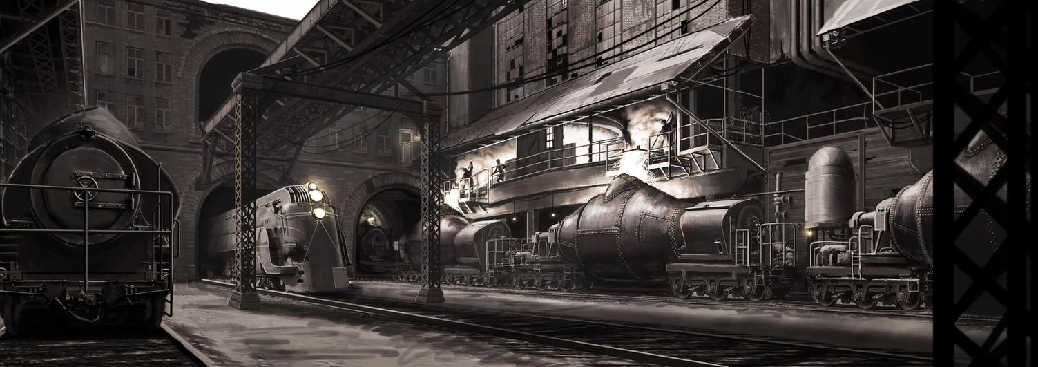 Smelting Plant by AlexJJessup