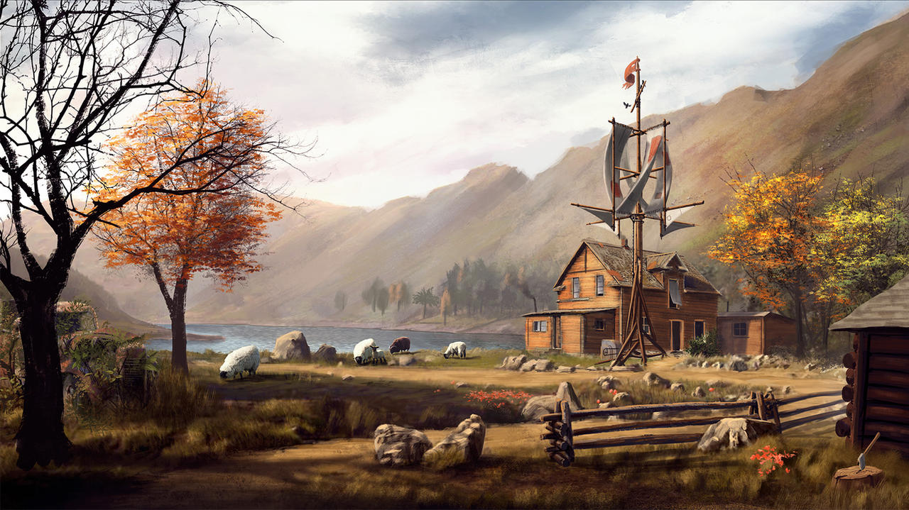 Farm by AlexJJessup on DeviantArt
