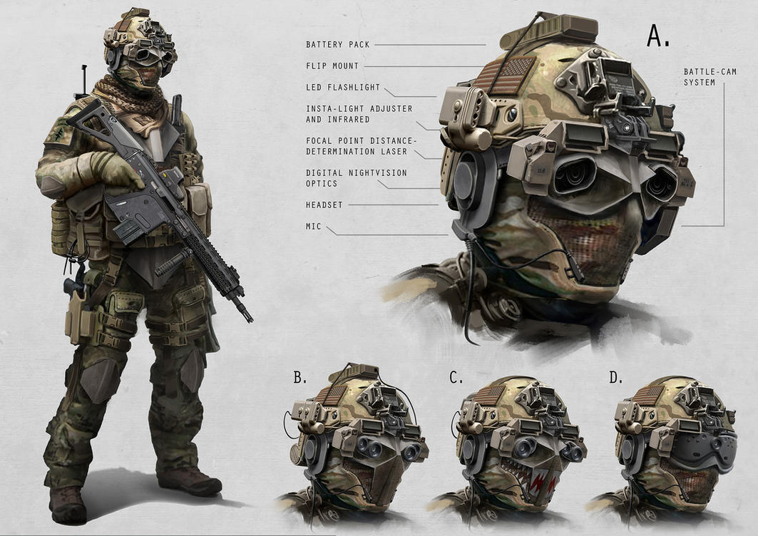 Military special forces gear - Special Forces By Alexjjessup