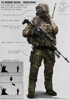 Recon Marine by AlexJJessup