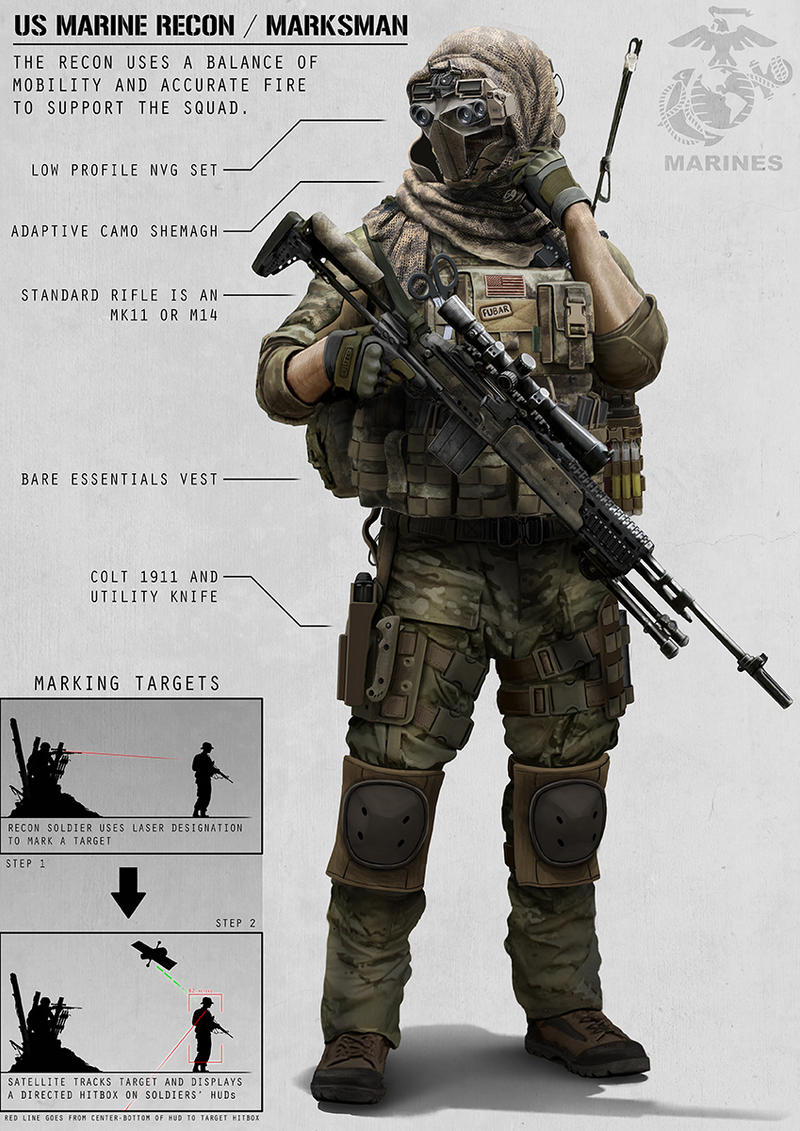 Recon Marine by AlexJJessup