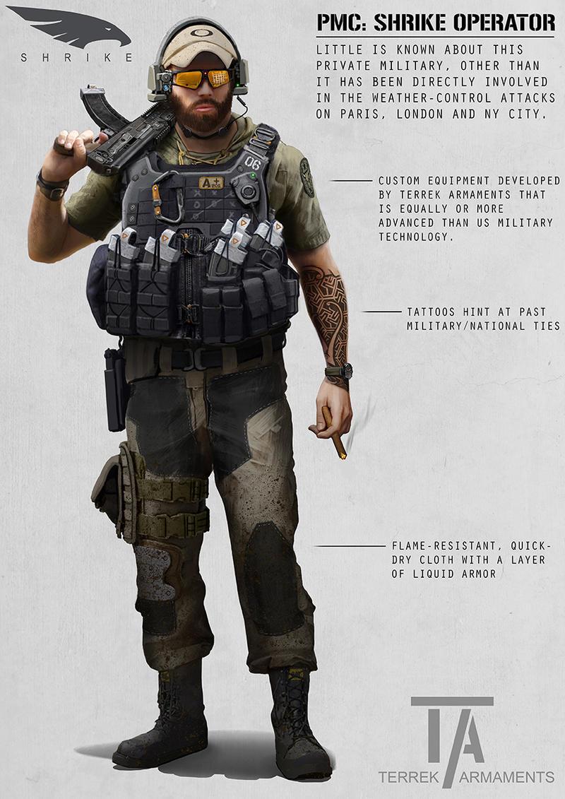 PMC: Shrike Operator by AlexJJessup