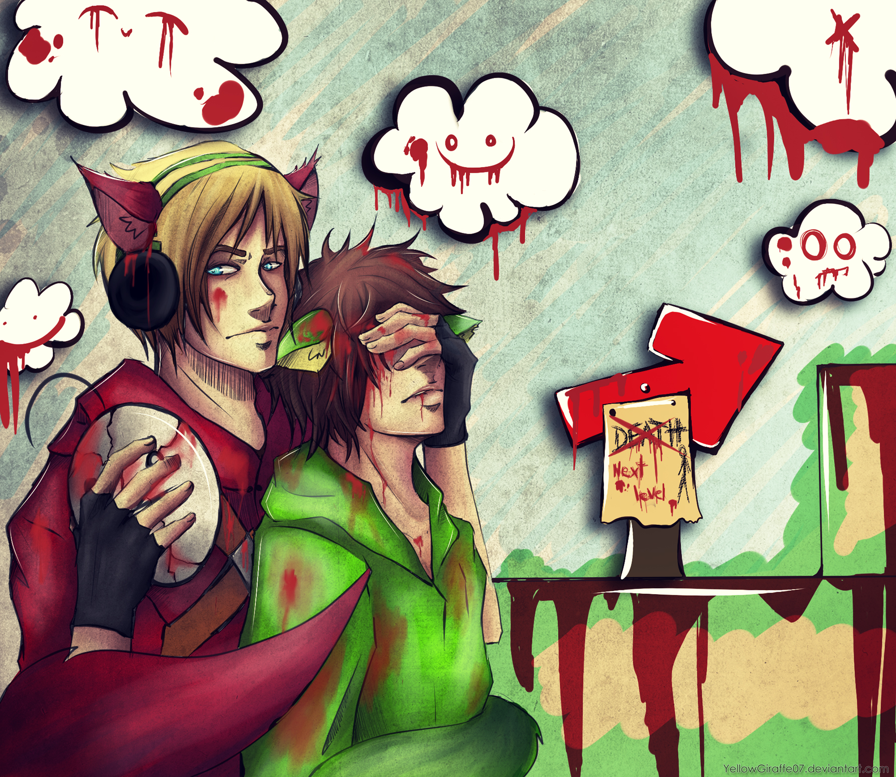 PewdieCry: more BLOOD pain and tears by Micatsa