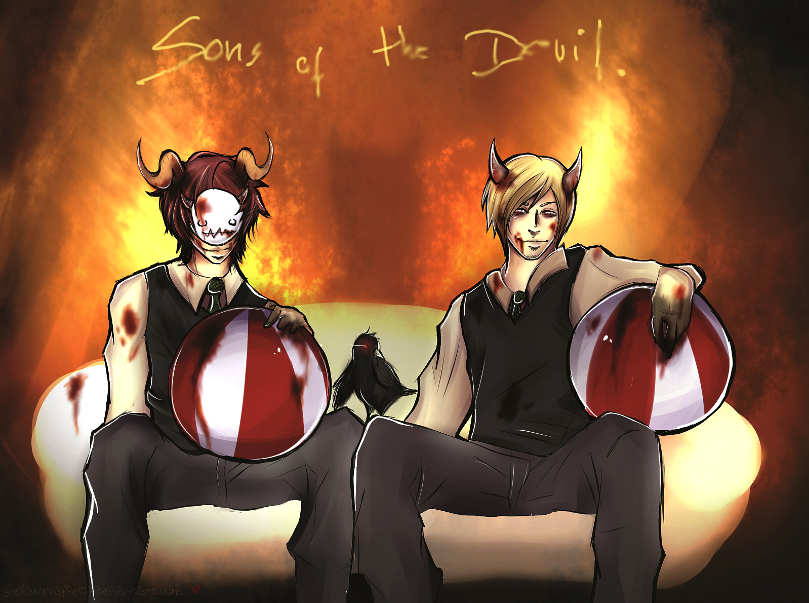 PewdieCry: Sons of the Devil by Micatsa