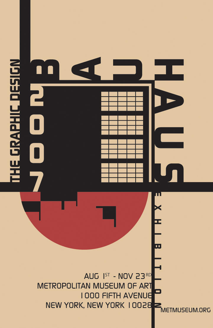 Bauhaus poster 2 by dt1087 on deviantart for Architecture art design