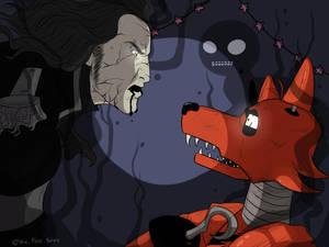 Pirate Foxy VS Captain Salazar