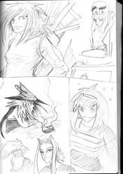 Drunken Sketchbook by dogtopus