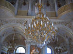 Chandelier in the Hermitage
