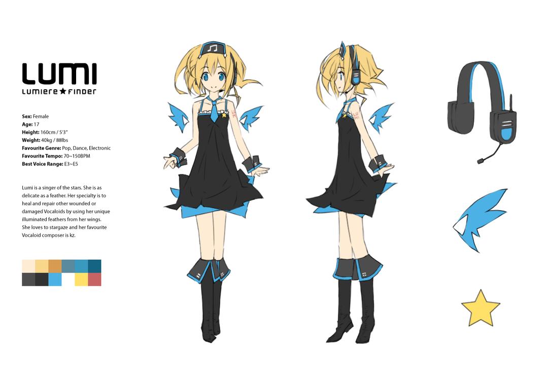 Lumi Character Sheet By Winyumi