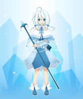 Celie's Icy Dress by Winyumi