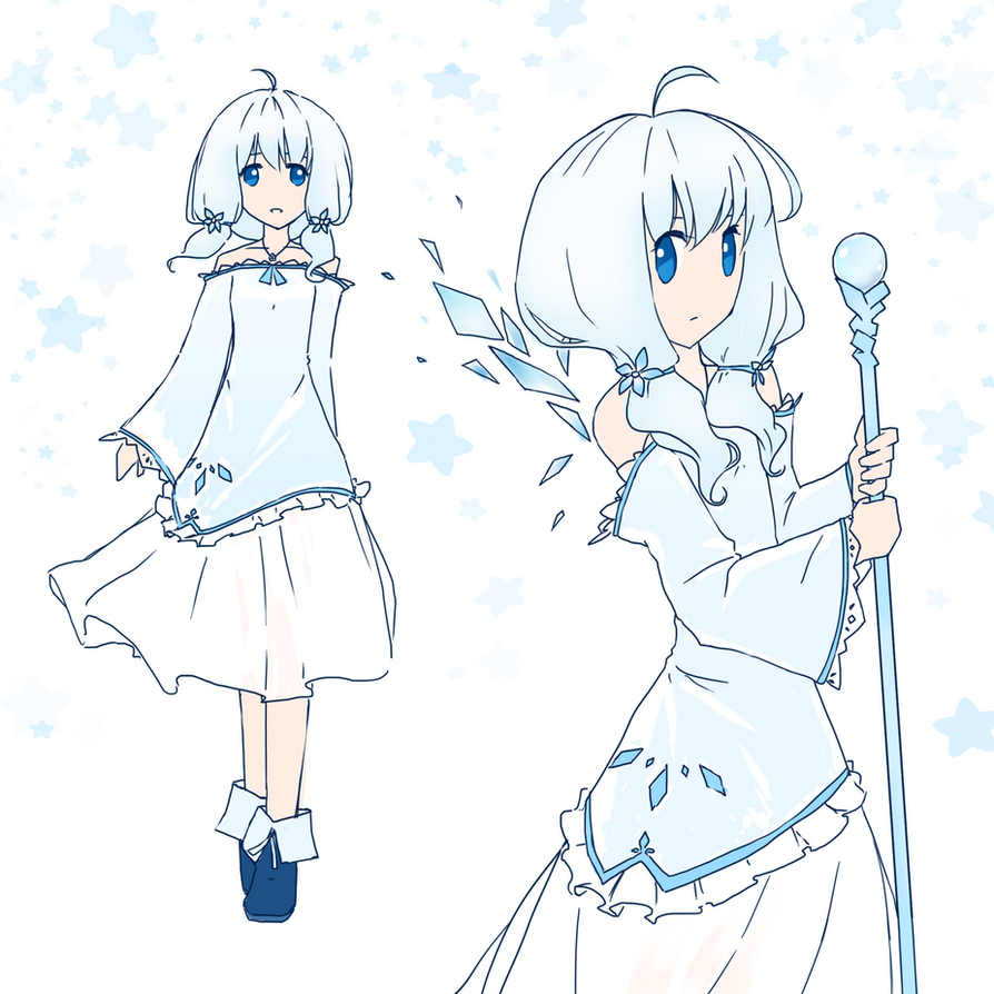 AoH: Celie's Frozen Heart Dress by winnietehpoohie