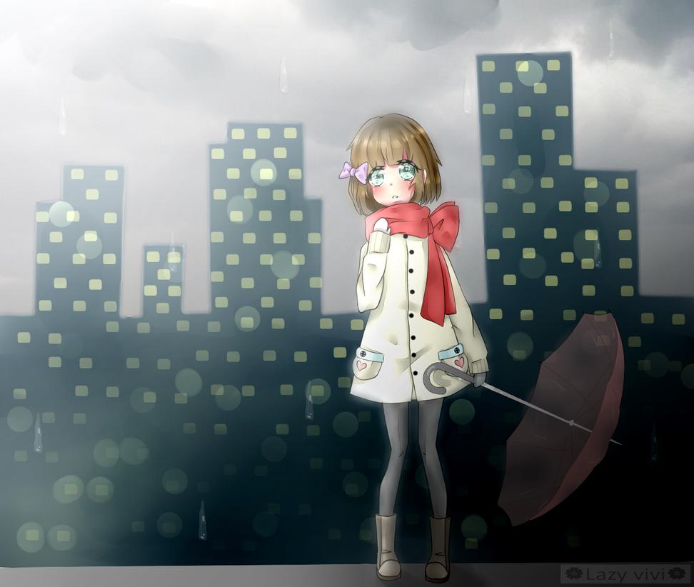 rain - oc by lazy-vivi