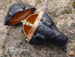 Leather spoon case late 14th cent. by Antwuerke