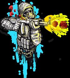 Sun warrior by Licensetoink