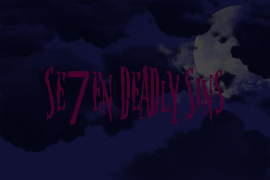 Se7en Deadly Sins by SaartjePancake