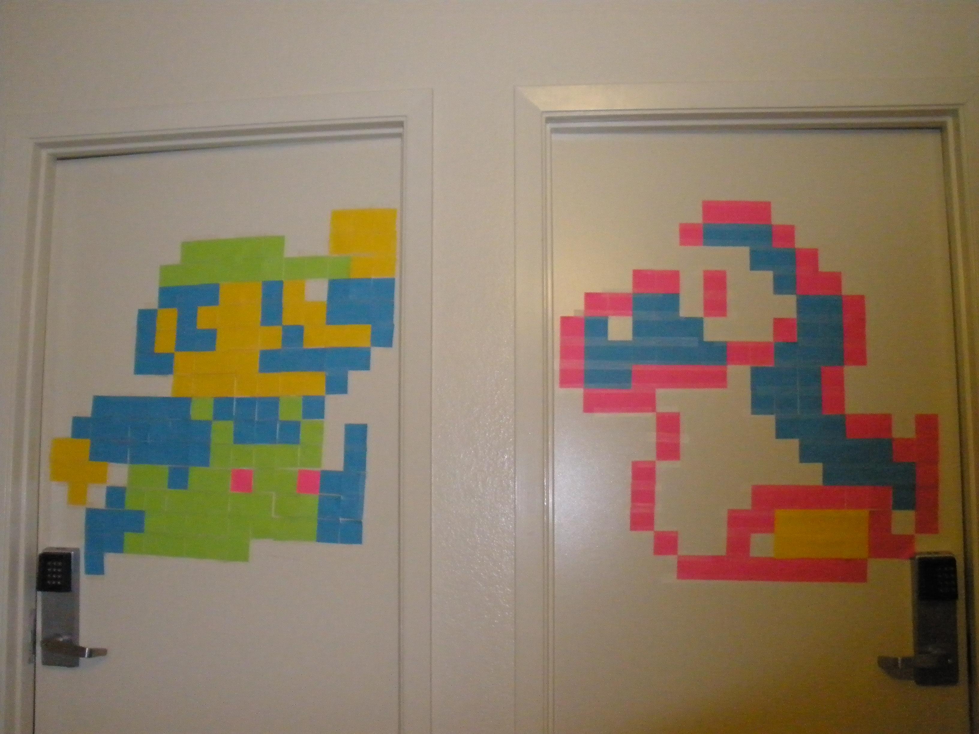 Mah Pixely Friends by rawrkittens