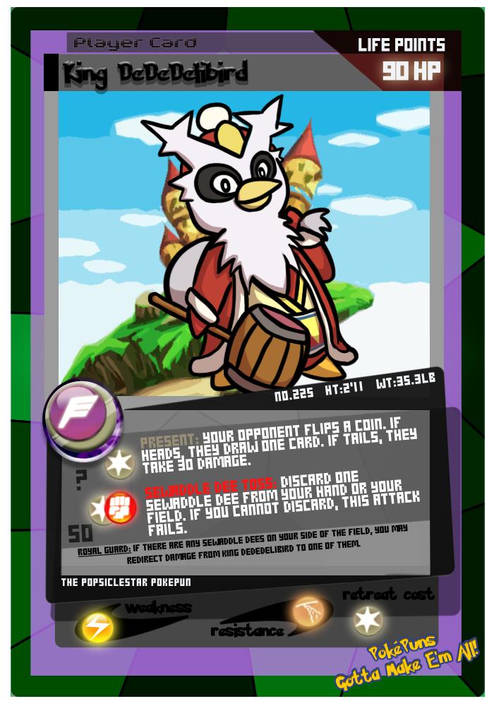 No. 225: King DeDeDelibird by rawrkittens