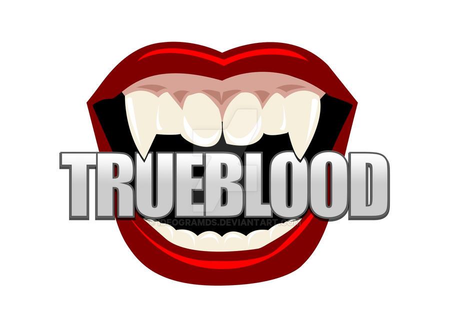 trueblood example logo 1ideogramds on deviantart