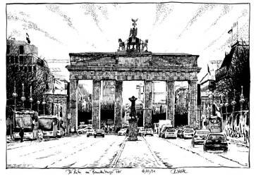 Brandenburg Gate by RoodyN