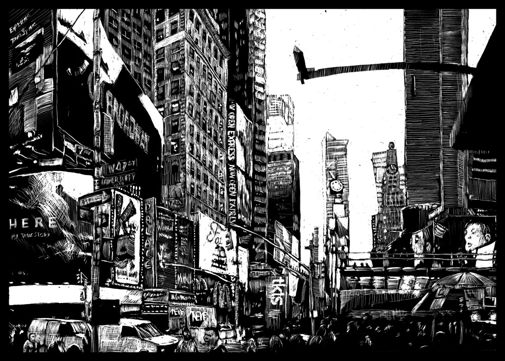 TimesSquare by RoodyN