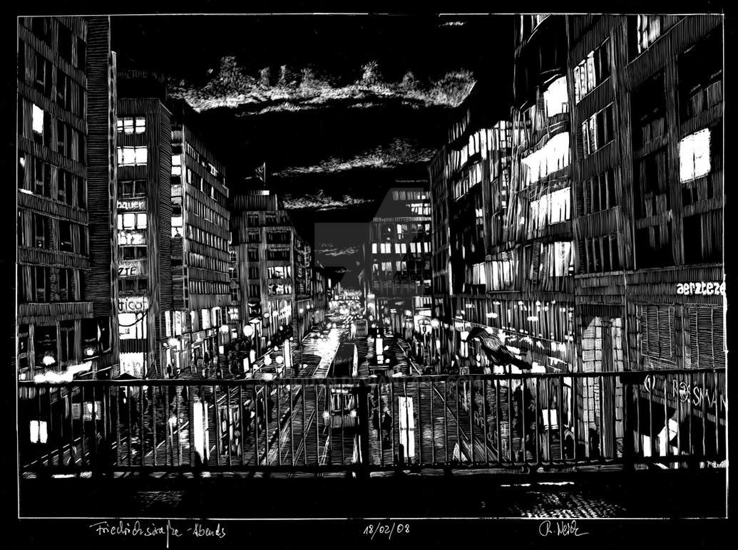 Une soirée sur la Friedrichstrasse par RoodyN