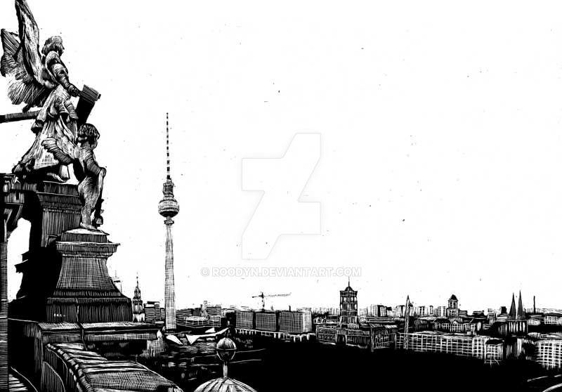 Vue de la cathédrale par RoodyN