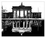 Brandenburg Gate Day and Night