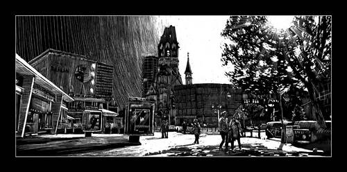 Berlin West on an autumn afternoon by RoodyN