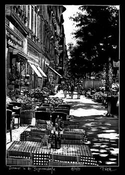 Summer in the Bergmannstrasse