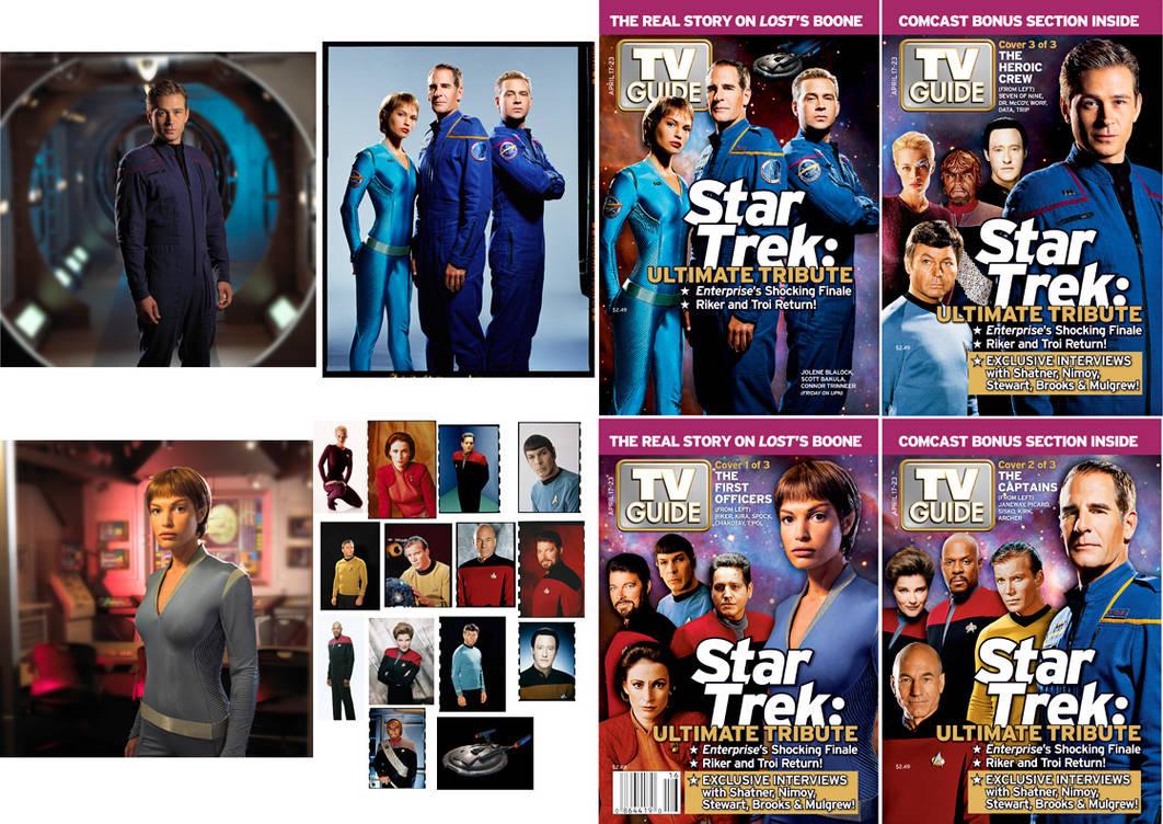 TV Guide Trek Tribute Covers by Retoucher07030 on DeviantArt