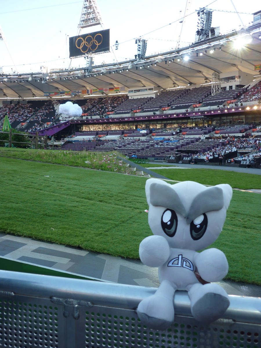 Fella at the Olympic Games by ggeudraco