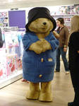 Paddington Bear in Oxford Street