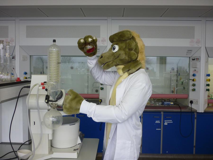 Secret Fursuit Laboratory Photoshoot by ggeudraco