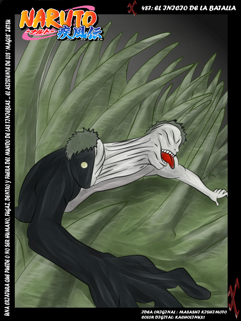 NARUTO COVER 487 by kacholinux1lsda on DeviantArt