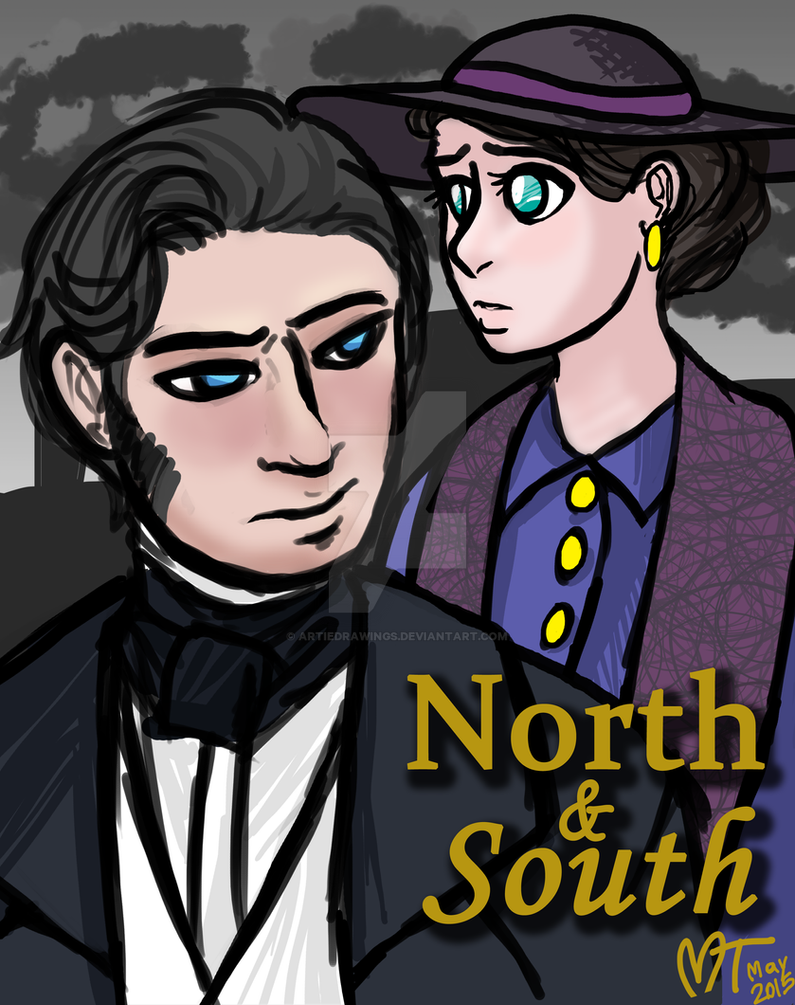 North and South by ArtieDrawings