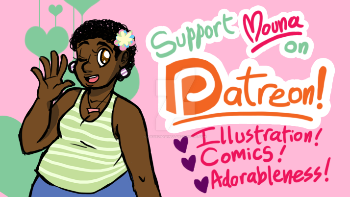 Mouna on Patreon! by ArtieDrawings