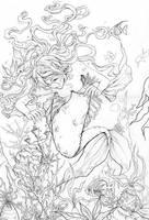 Mermaid inks by miyu-chan