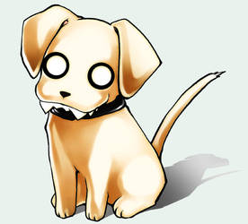 My dog by miyu-chan