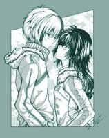 boy and girl by miyu-chan