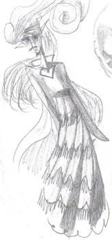 Creative Girl Drawing Original