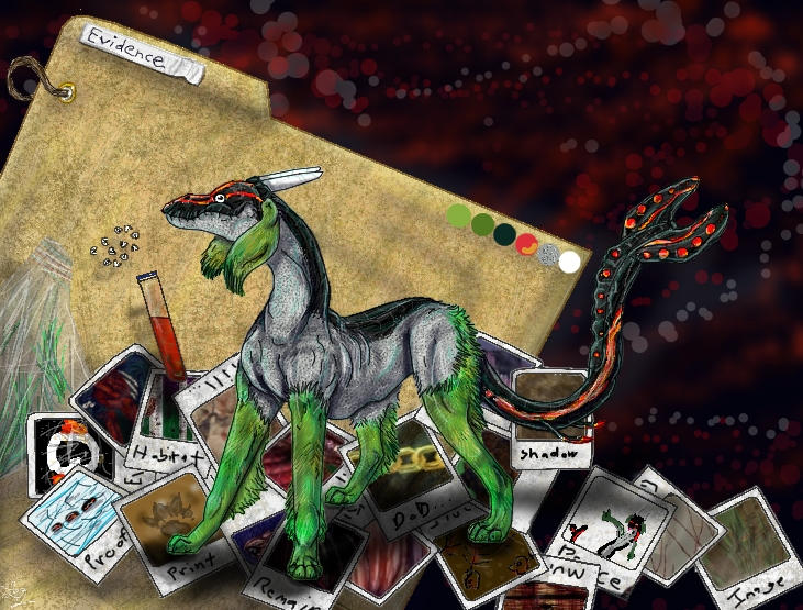 Elusive Evidence by psychowerewolf