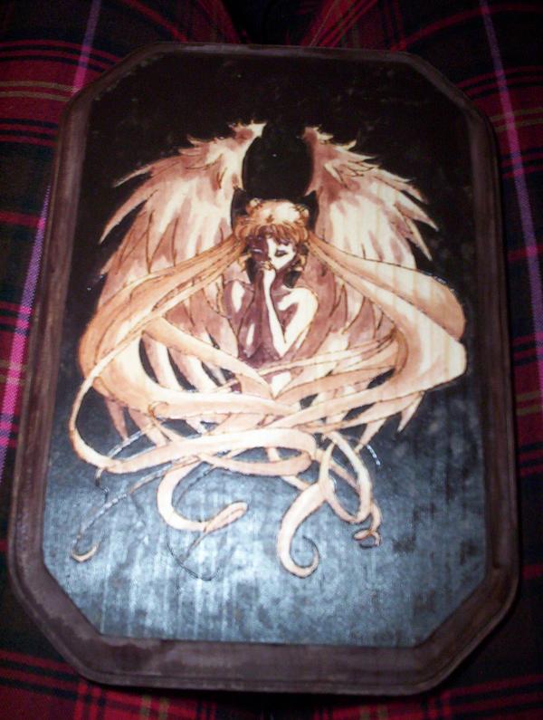 Burned: Usagi wings by Lezzy-cat
