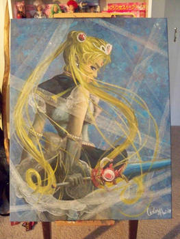 Princess Sailor Moon and lace