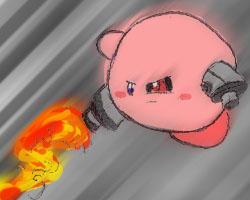 Cyborg Kirby